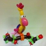 Balloon art op YouTube